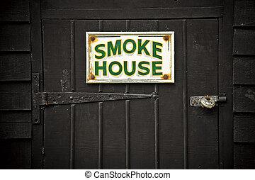 casa, humo