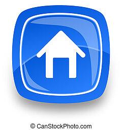 casa, icona internet