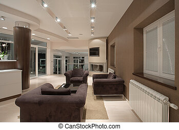 casa, interior