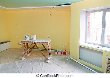 casa interior, renovación
