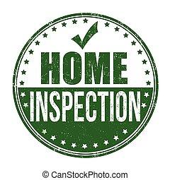 Casa ispezione scatola casa circondato marchio for Ispezione finale a casa
