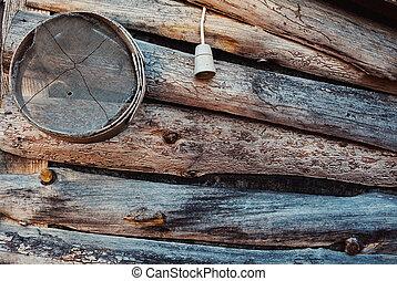 casa legno, esterno