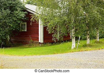 casa legno, finlandese