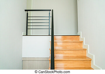 casa legno, scale