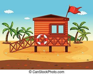 casa, lifeguard's