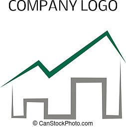 casa, logotipo