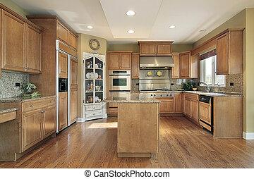 casa, lusso, cucina