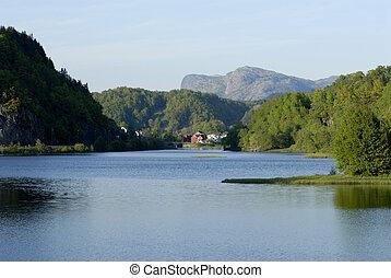 casa, lysefjord