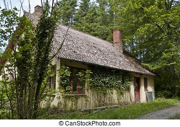 casa, madeiras