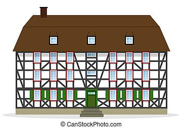 casa, meio-timbered