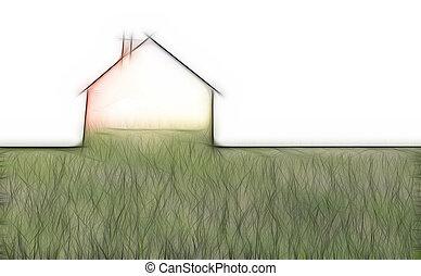 casa, metáfora, eco