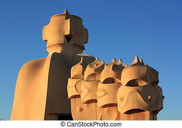Casa Mila (La Pedrera) in Barcelona
