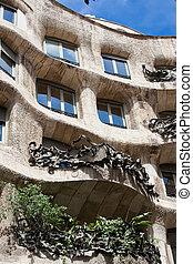 Casa Mila - Famous Gaudi's masterpiece - Casa Mila or La...