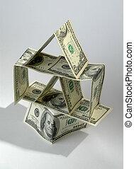 casa, monetário