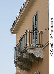 casa, neoclassical, sacada