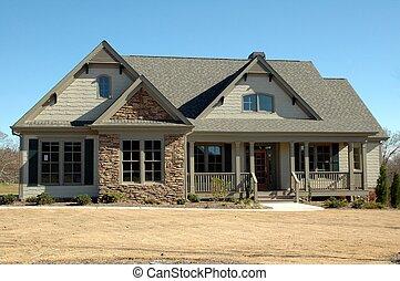 casa nuova, costruzione