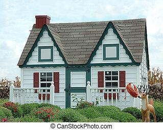 casa pan zenzero, giardino