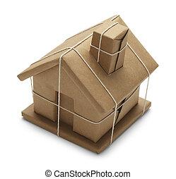 casa, paquete