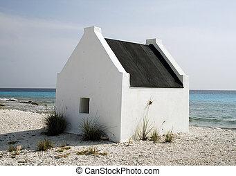 casa pequeña, blanco, esclavo