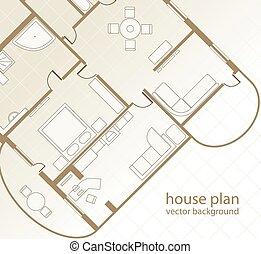 casa, plan