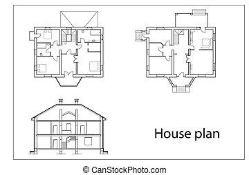 casa, planos