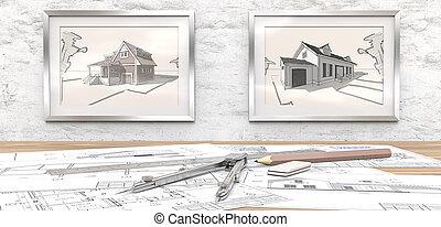 casa, project., sonho