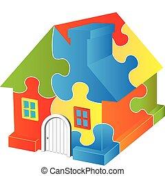 casa, puzzle