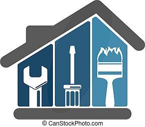 casa, reparaciones