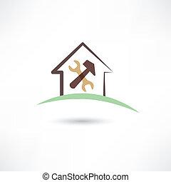casa, reparar