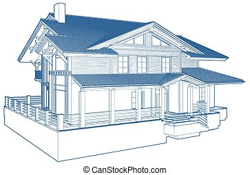 casa, residencial, familia , buil...