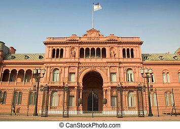 Casa Rosada, Buenos Aires, Argentina - The Casa Rosada (Pink...