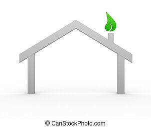 casa, símbolo