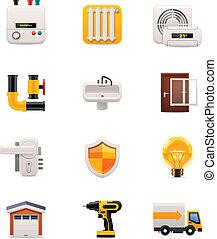 casa, set., 2, parte, rinnovamento, icona
