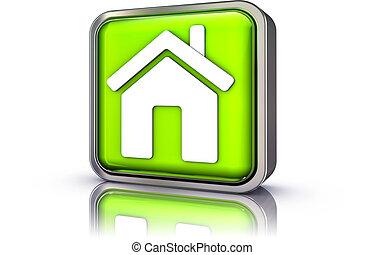 casa, simbolo
