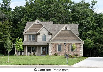 casa suburbana, 1