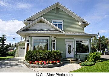casa suburbana