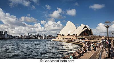 casa, sydney, ópera, australia., sydney