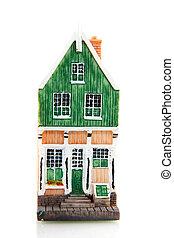 casa, tipico, olandese