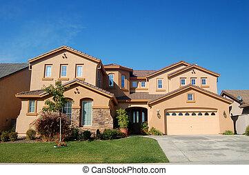 casa, upscale, califórnia