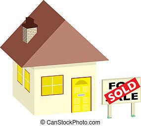 casa, vendido