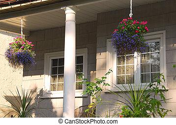 casa, veranda