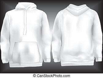 casaco, hoodie, sweatshirt, ou, temporário