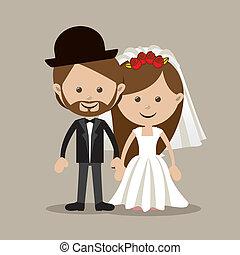 casado, desenho