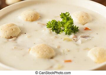 casalingo, chowder mollusco new england