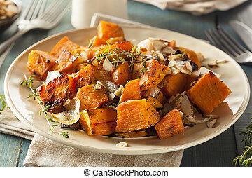 casalingo, cotto, patata dolce