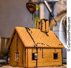 casalingo, pan zenzero, house.