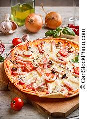 casalingo, pizza