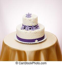 casamento branco, bolo