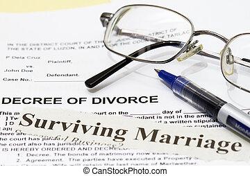 casamento, sobreviver