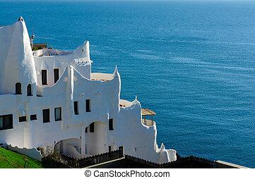 Casapueblo, Punta del Este Beach, Uruguay - A view of the ...